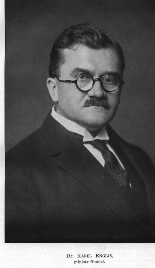 60. výročí úmrtí Karla Engliše, národohospodáře a ministra financí